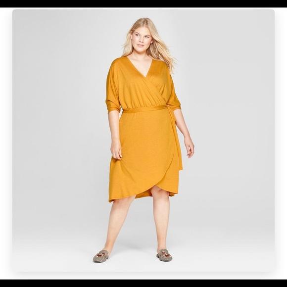 c959b05a8 a new day Dresses | New Medium Knit Wrap Dress From Target | Poshmark